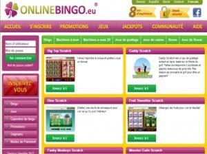 Les promotions proposées par OnlineBingoGrattage