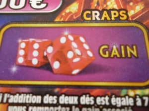 Zone de grattage Craps