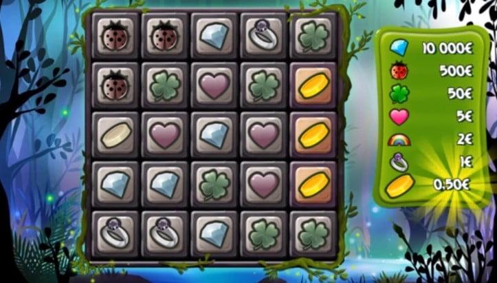 une partie de jeu sur l arbre aux trésors