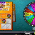 Scratch Fortune Wheel