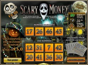 Jeu de grattage Scary Money