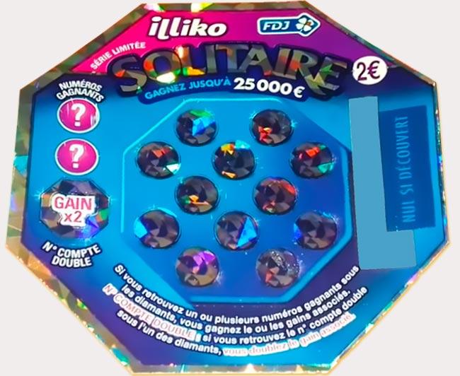 La version holographique du jeu Solitaire