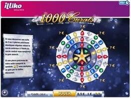 Un aperçu du jeu à cliquer 1000 Carats
