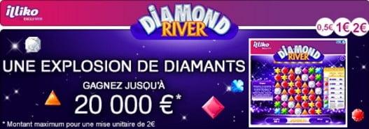 Le jeu Illiko Diamond RiverDiamond River