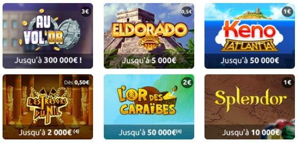 Exemple de jeux Illiko Aventure et Evasion
