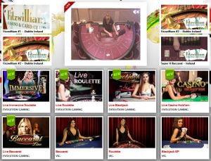 Les salles de casino en live Lucky 31