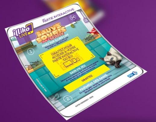 Visuel ticket partie interactive Sauve Souris