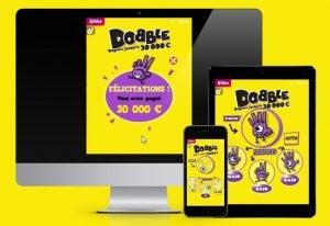 Jouer au Dobble en version en ligne ou sur ticket papier à gratter
