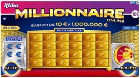 Aperçu du jeu en ligne Millionnaire Online