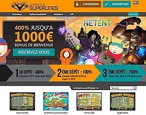 découvrir le casino en ligne superlines