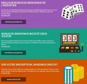 les meilleurs bonus de casino avec superlines