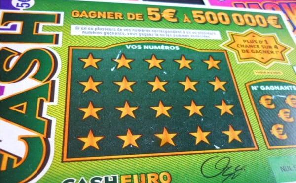 jeu de grattage a 5 euros Cash un jeu rentable et aussi genereux