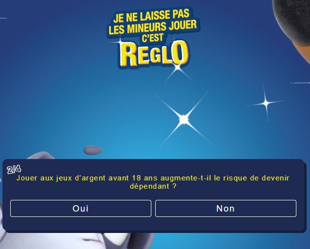 question numero 2 sur reglofdj