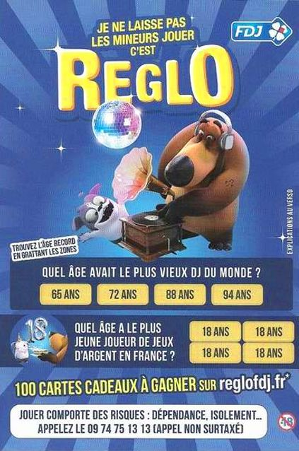 ticket grattage c est reglo