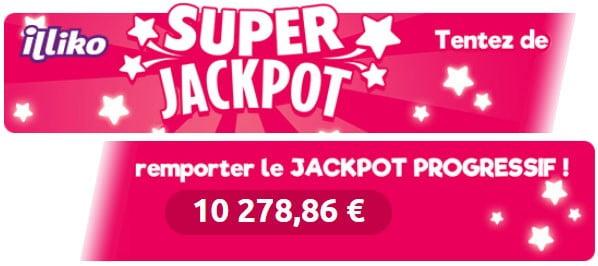 Jouer au Super Jackpot Illiko