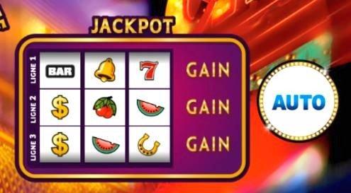 Option Auto sur le jeu Vegas