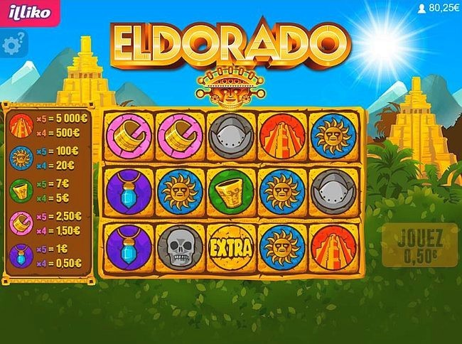 Une partie de jeu sur Eldorado