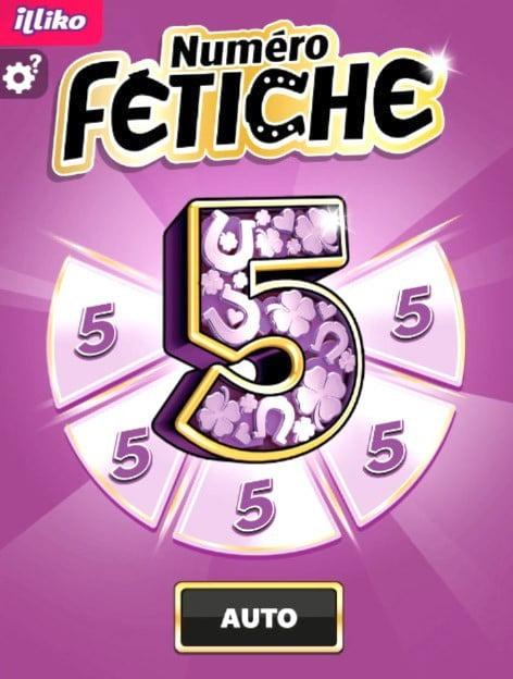 Dernière version du jeu Numéro Fétiche FDJ