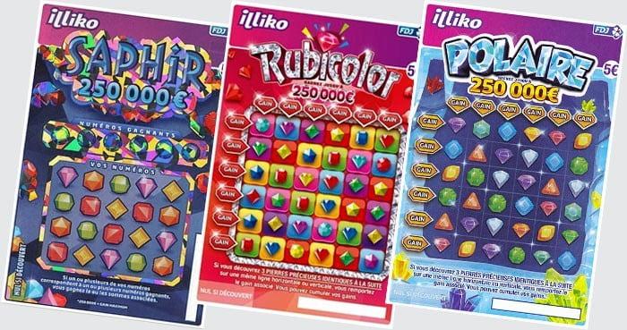 Comparatif des jeux Saphir Rubicolor Polaire
