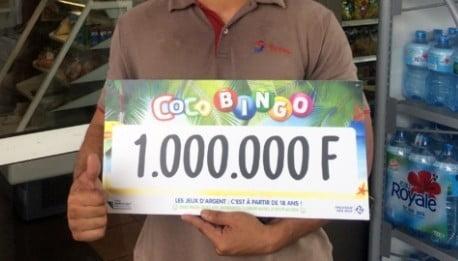 Gagnant du jeu Coco Bingo