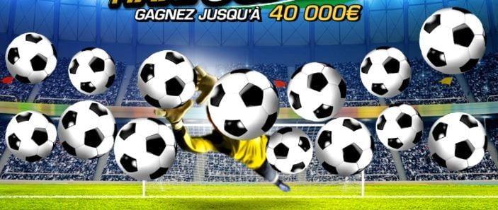 premier jeu de grattage sur le jeu Maxi Goal