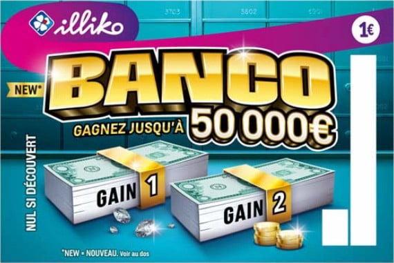 Nouveau ticket à gratter Banco FDJ