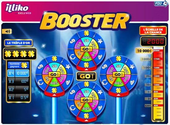 Le jeu numérique FDJ Booster