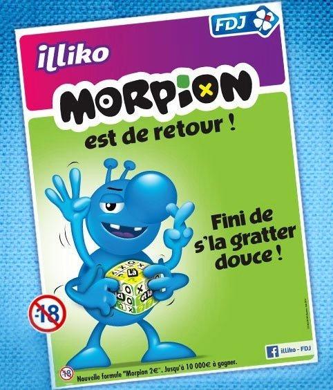 La campagne publicitaire du jeu Morpion