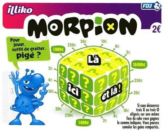 La dernière version du Morpion