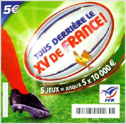 Tous derrière le XV de France