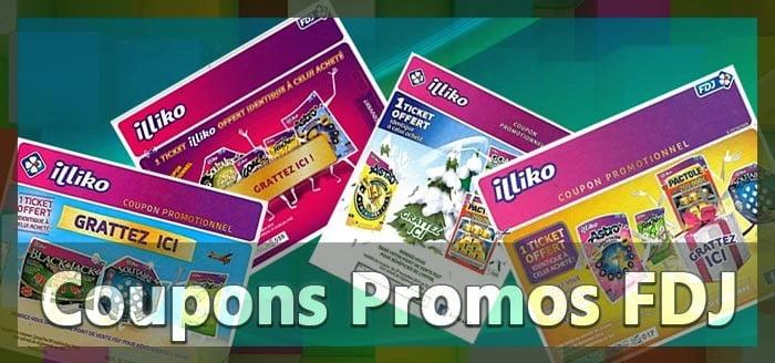 Les coupons promotionnels de la FDJ