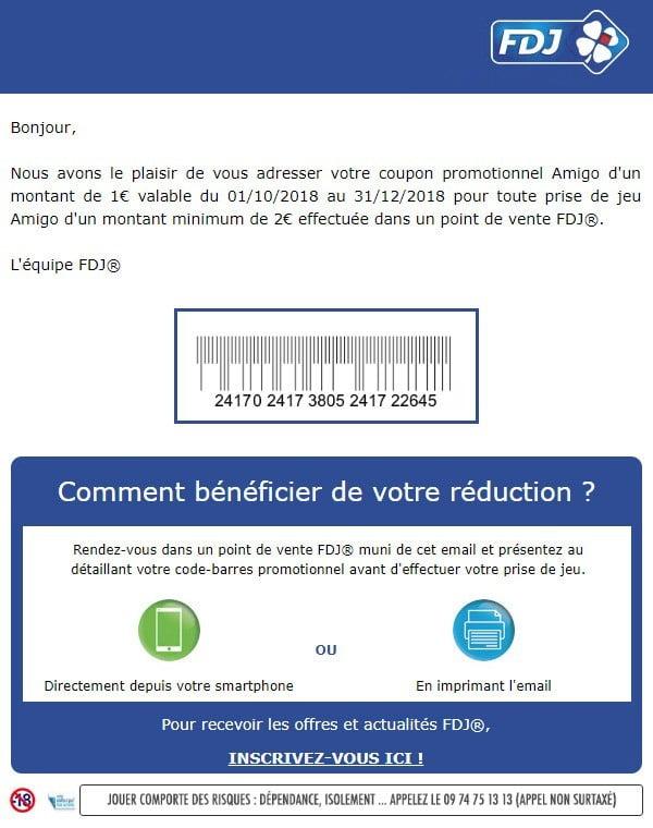 Jusqu'à 20 € réduction FDJ Code Promo ®, Codes