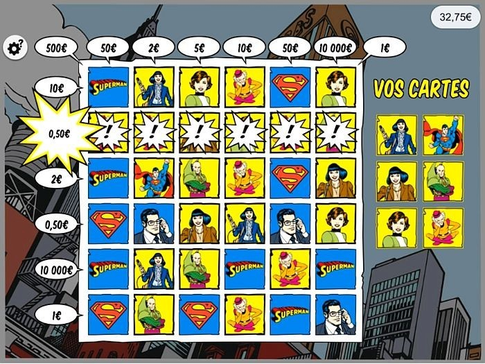 Superman FDJ gagnant