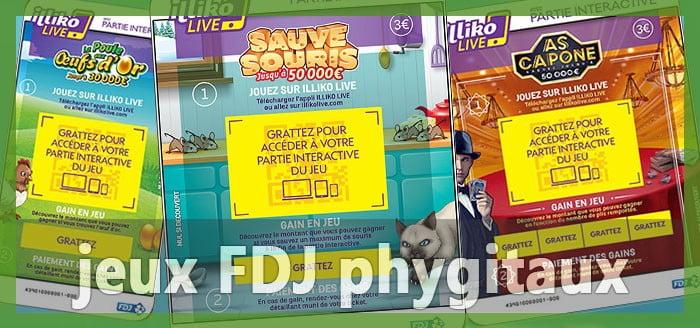 jeux FDJ phygitaux