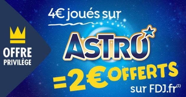 offres privilège nouveau jeu Astro