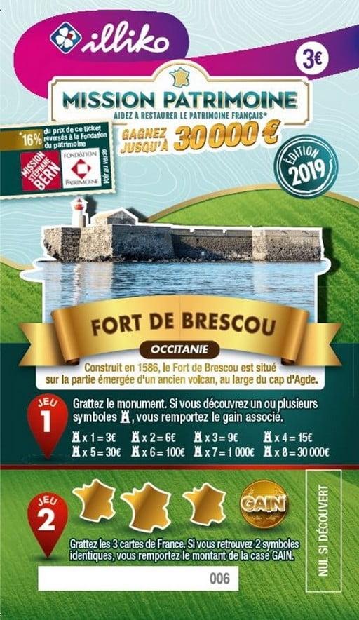 Mission Patrimoine Fort de Brescou