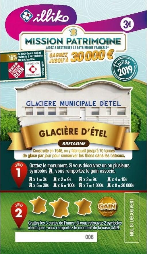 Mission Patrimoine Glacière d'Etel