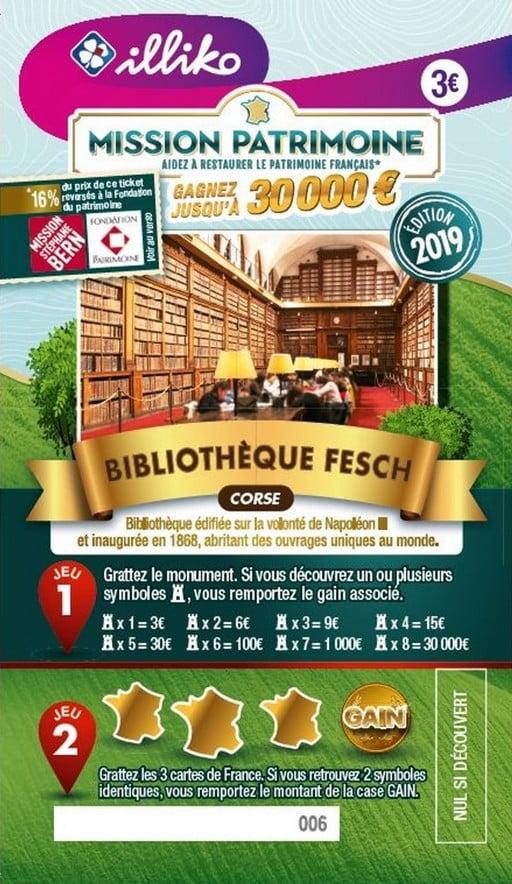 Mission Patrimoine avec la bibliothèque Fesch