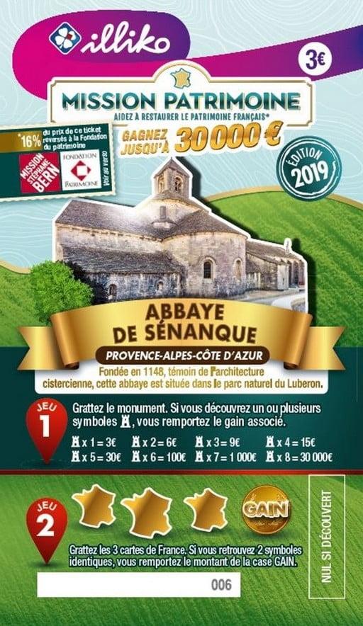 Mission Patrimoine avec l'abbaye de Senanque
