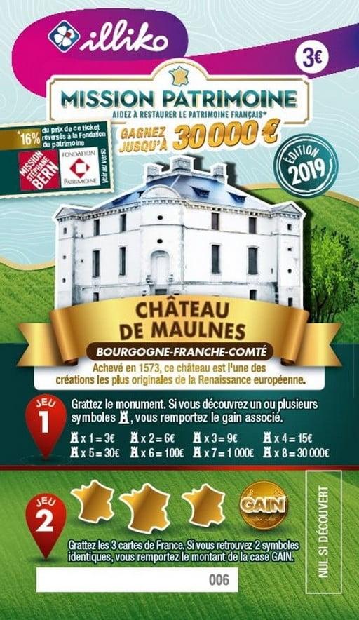 Mission Patrimoine avec le Château de Maulnes