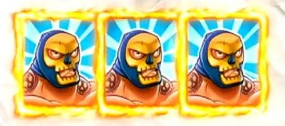 3 luchadors gagnants