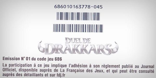 Duel de Drakkars 2€ remboursés