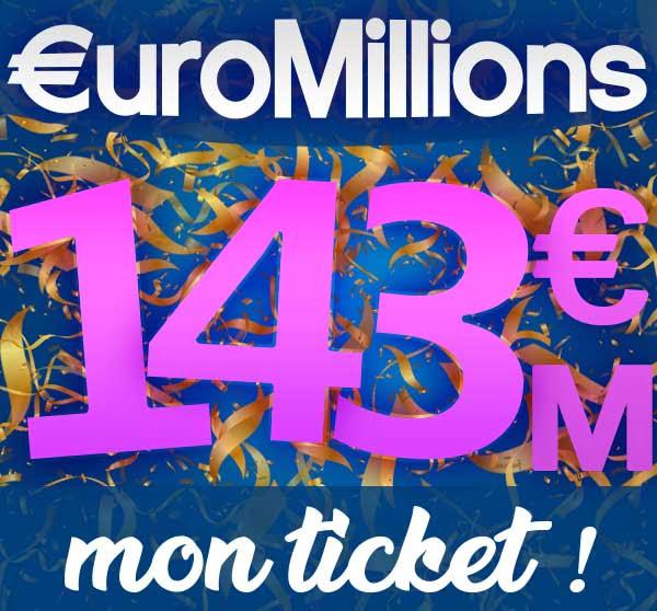 Jouer au prochain EuroMillions