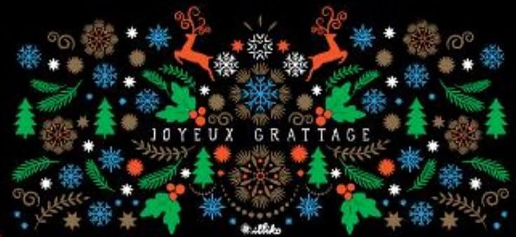 Pochette cadeau FDJ Joyeux Grattage