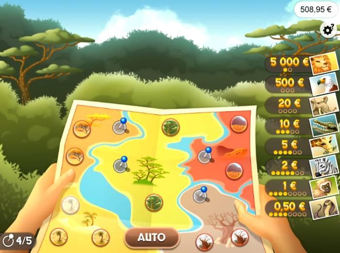 le jeu Illiko FDJ 1 2 3 Safari