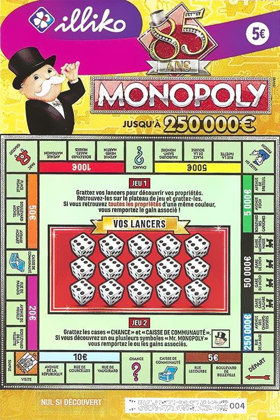 Monopoly FDJ le ticket
