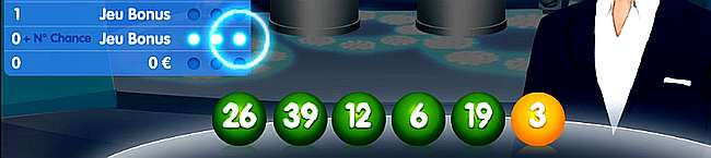 délivrance sur les 3 jeux bonus