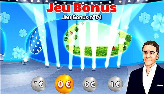 jeu bonus Instant Loto perdu