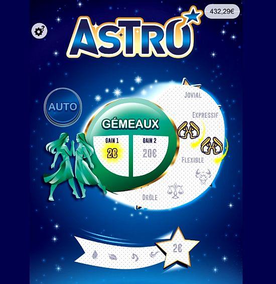 2 euros remportés sur Astro avec les Gémeaux