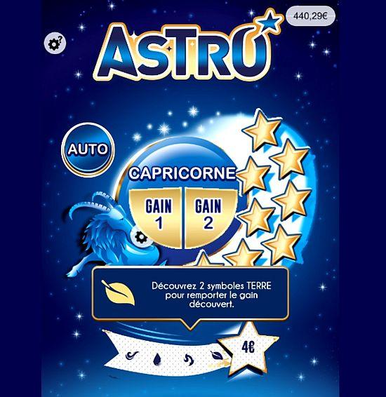 le Capricorne du ticket Astro